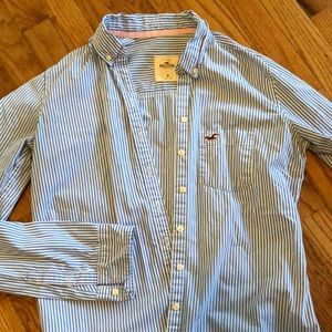 Hollister Ladies/Girls Oxford LS shirt Size M